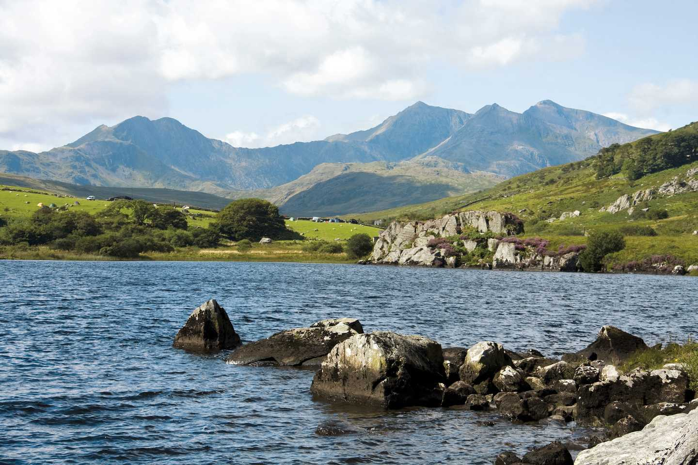 Picturesque view of Snowdonia