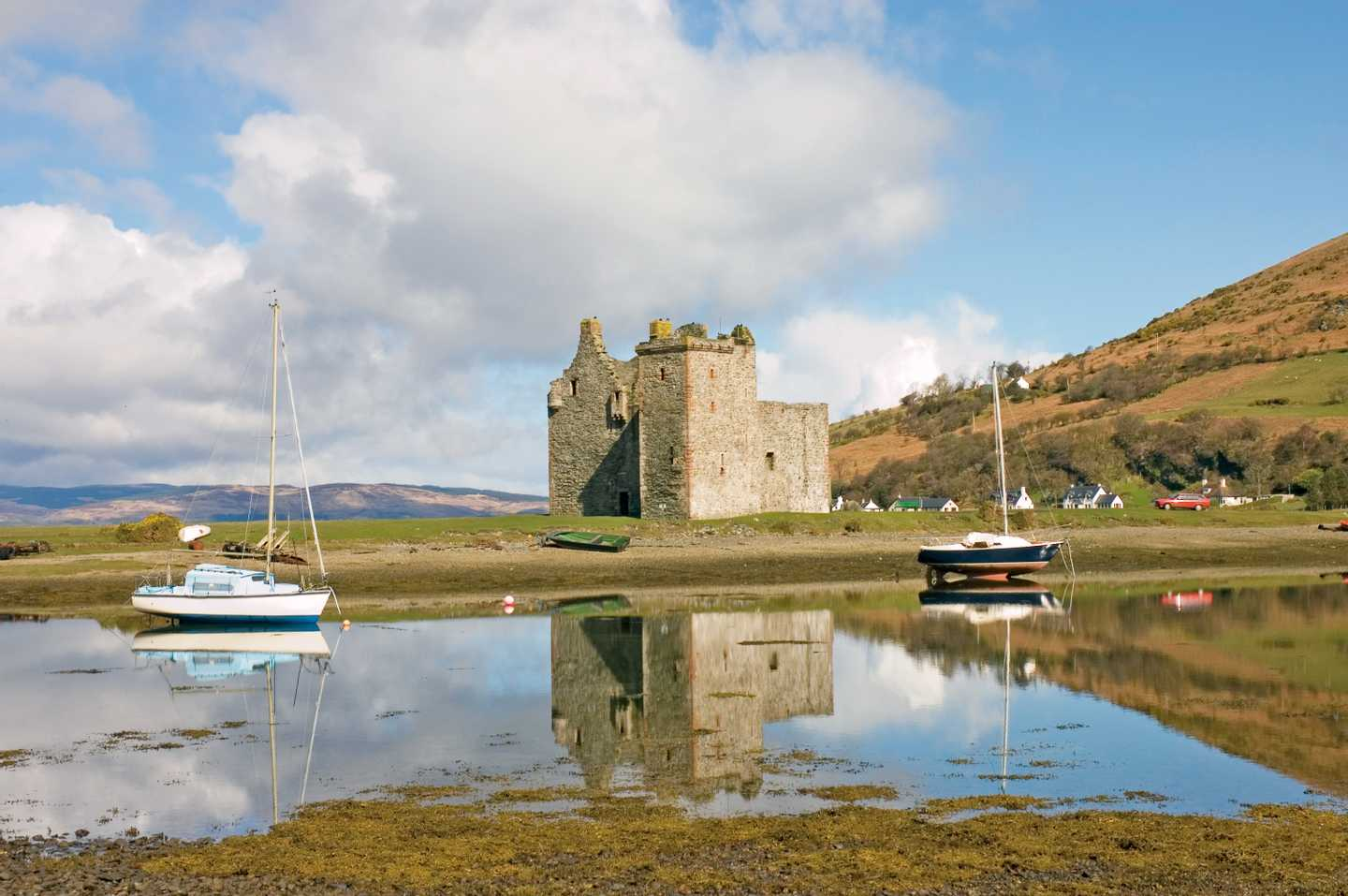 Lochranza Castle on the Isle of Arran