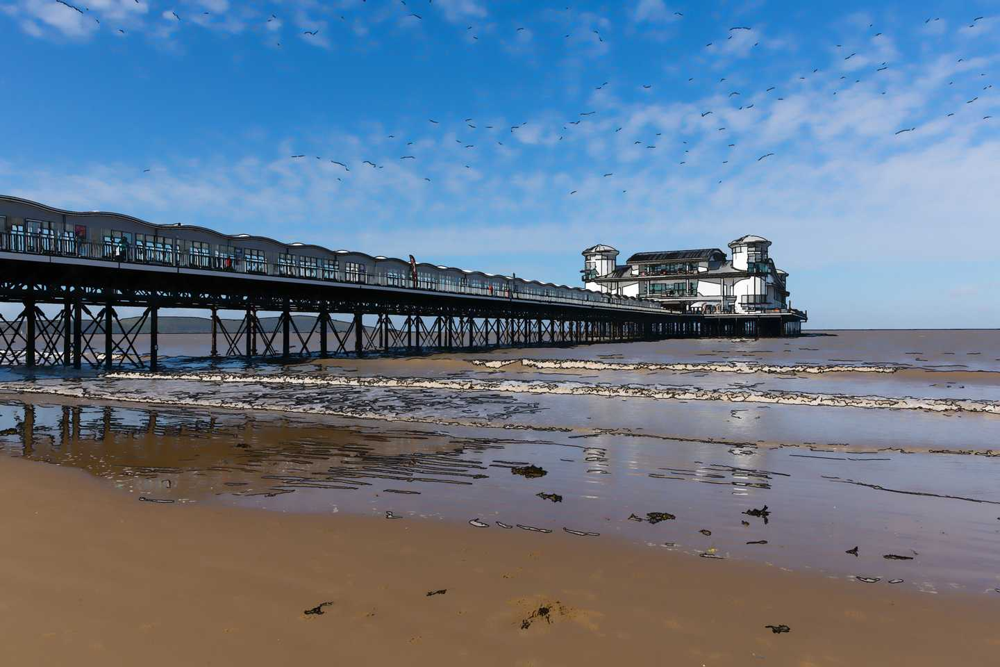 Weston-super-Mare seaside resort in Somerset