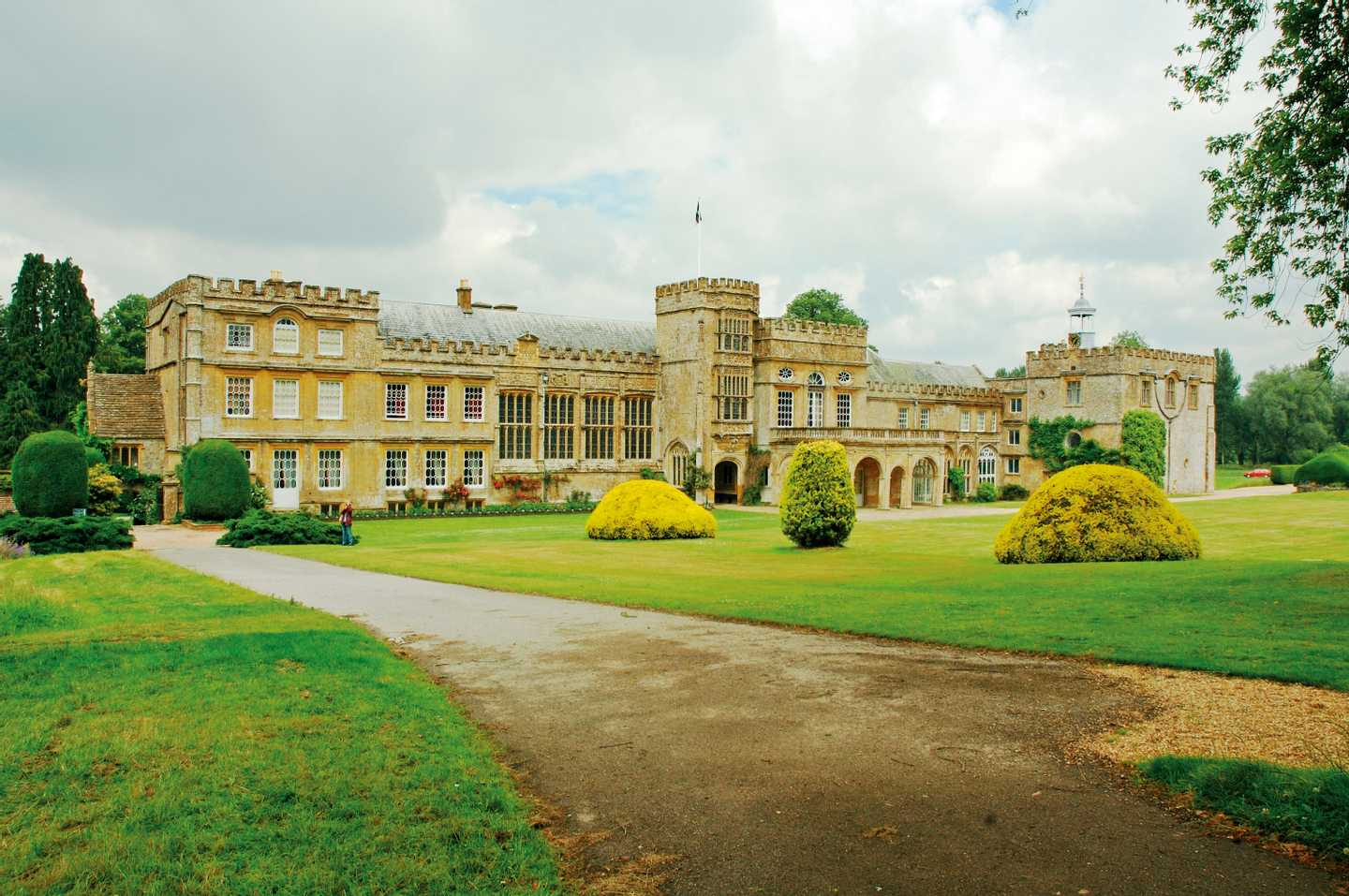 Exterior of Forde Abbey and Gardens