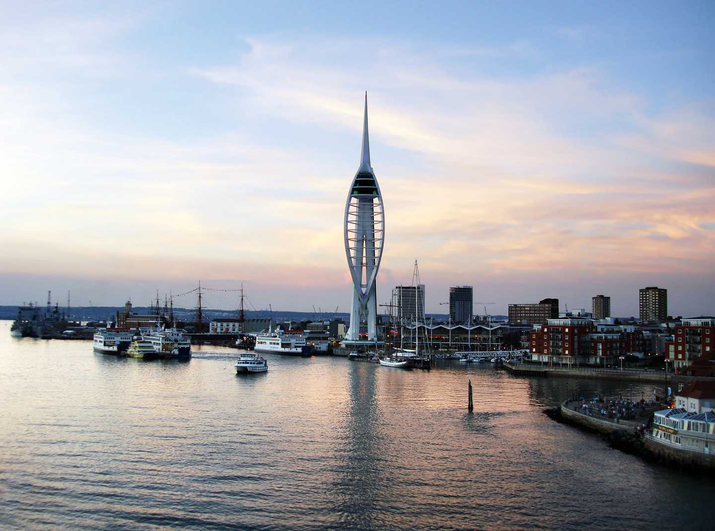 Spinnaker Tower at Portsmouth Harbour