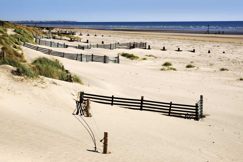 Sweeping sandy beach, West Wittering Beach