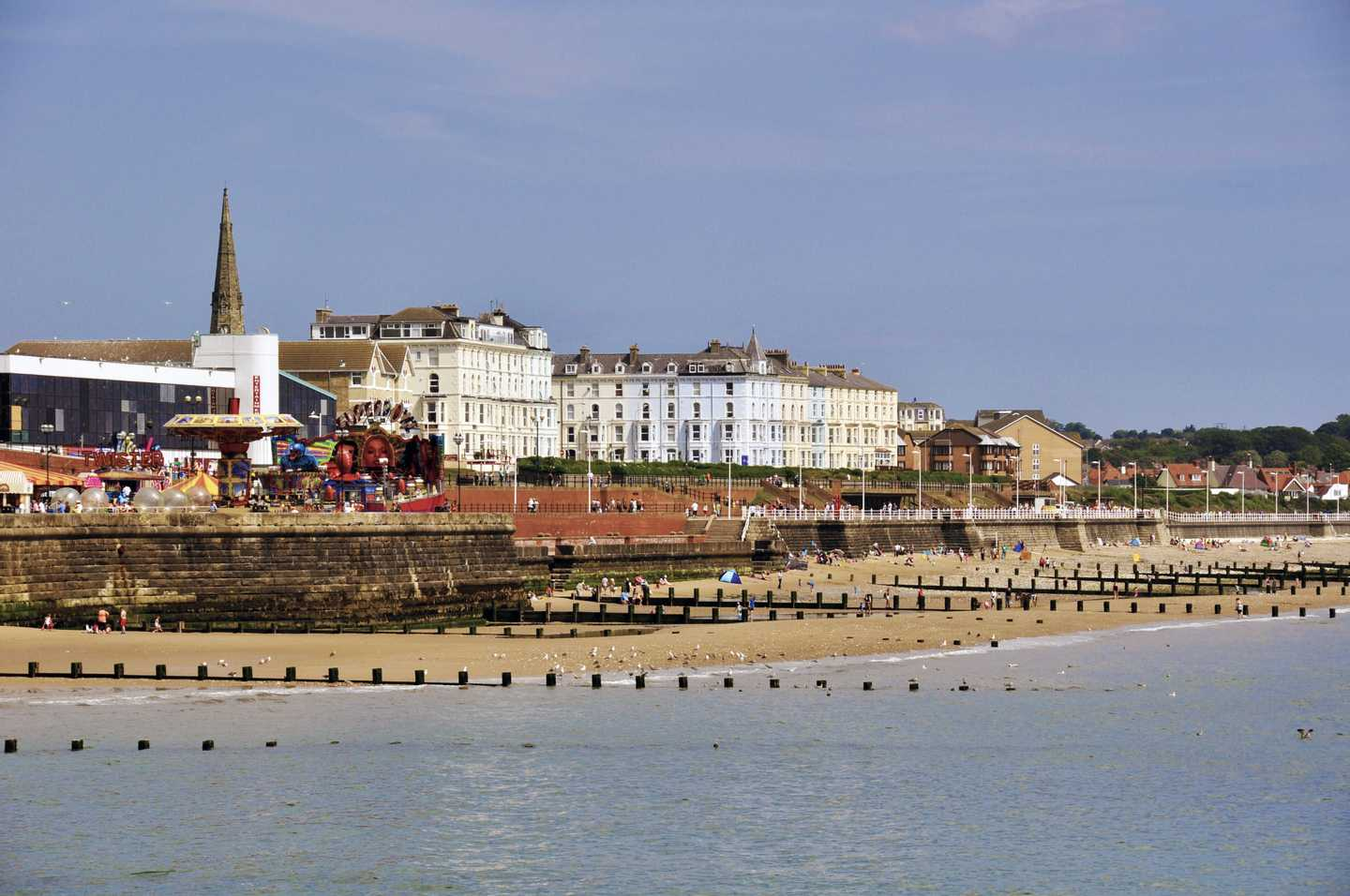 A view of Bridlington Beach