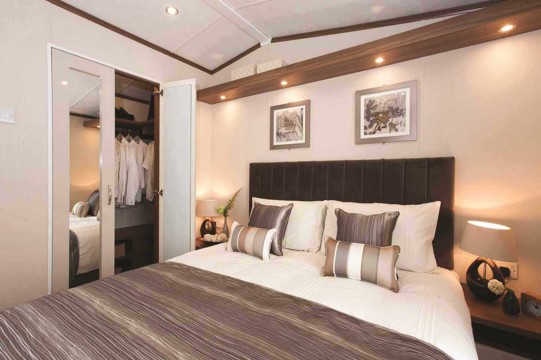 Master bedroom in a Pemberton Rivington