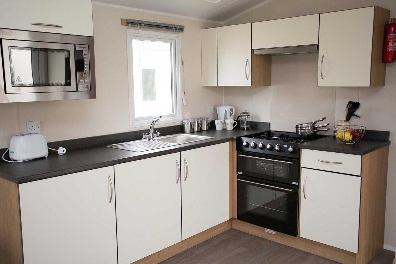 Kitchen in a Willerby Seasons