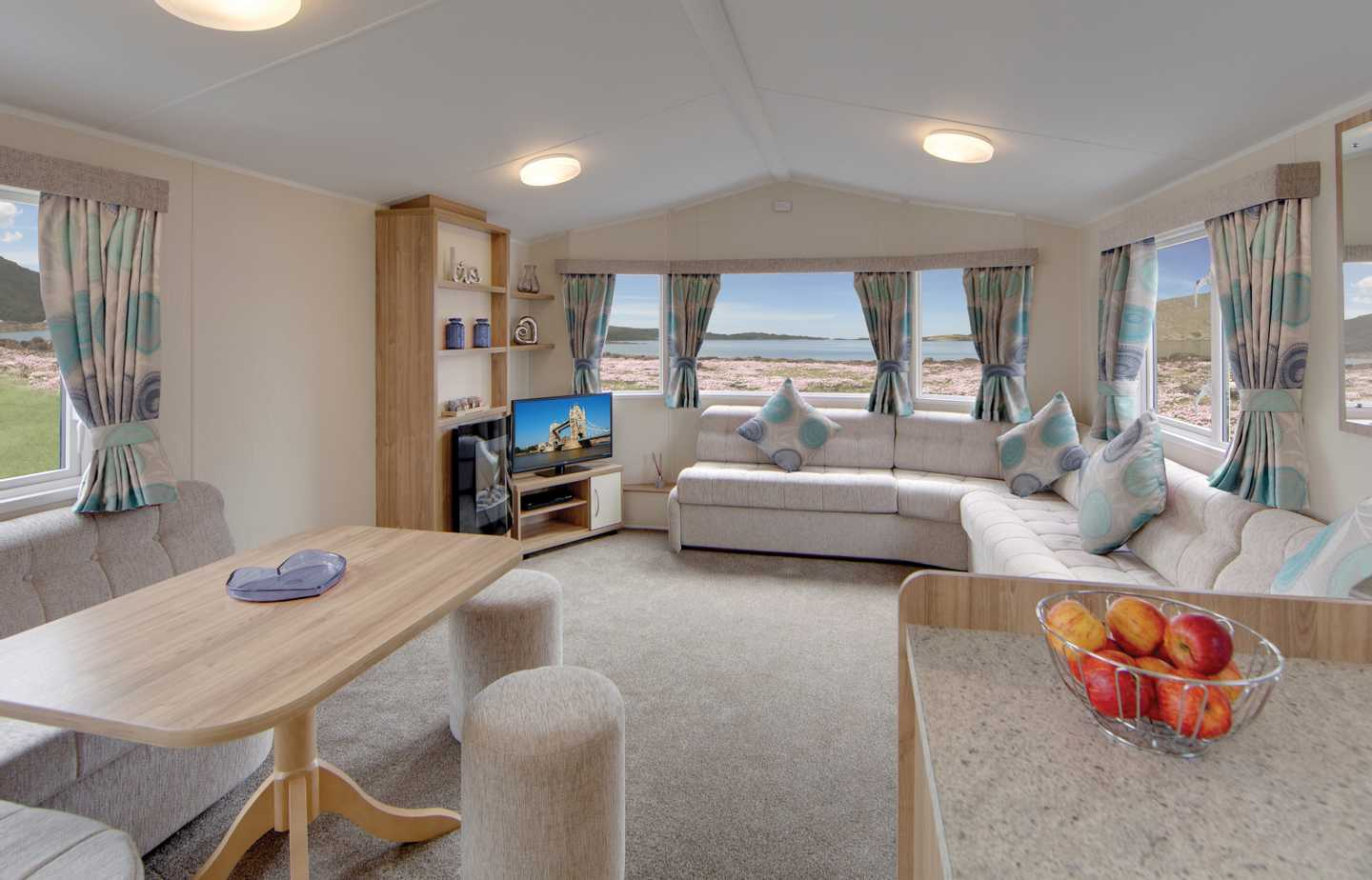 Lounge in a Willerby Rio