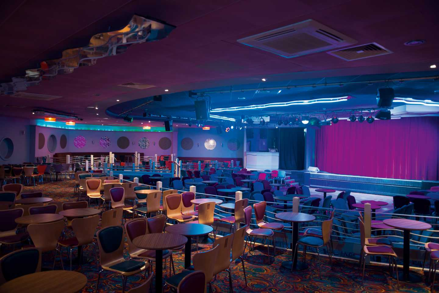 Interior of the Live Lounge