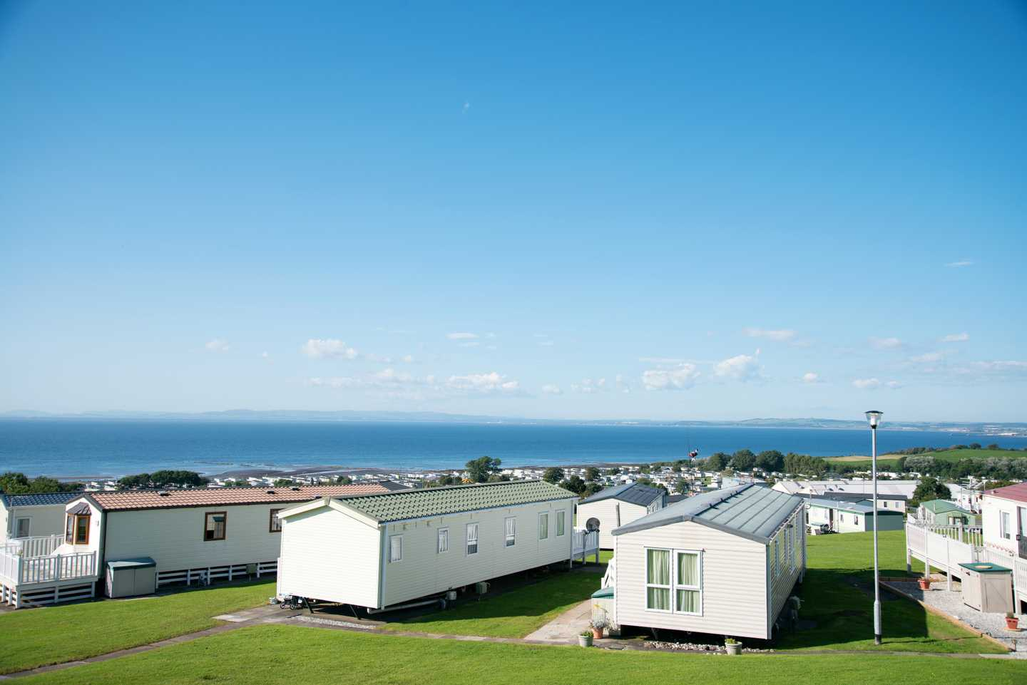 Accommodation and sea view