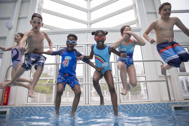 Kiln Park's indoor pool