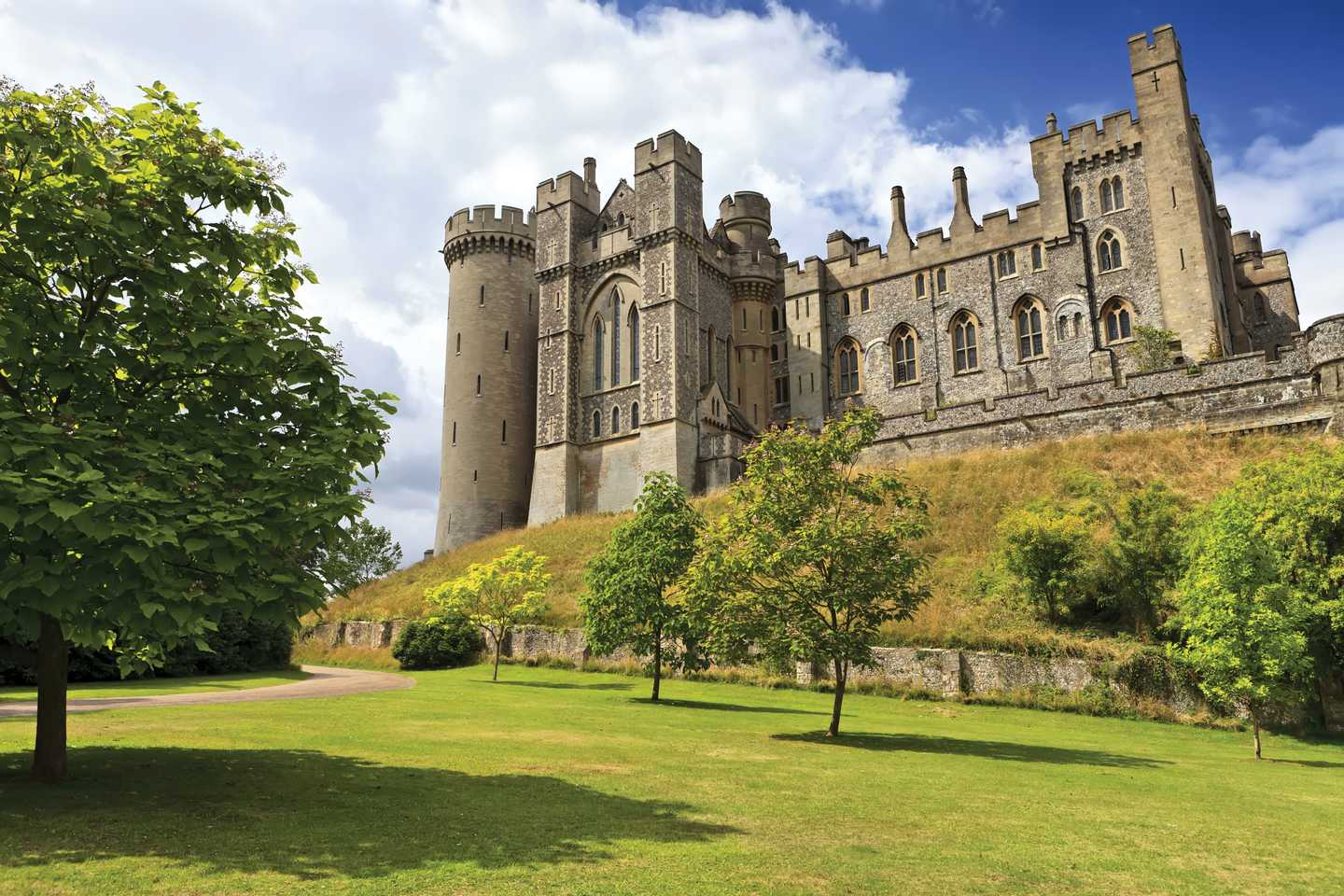 Picturesque Arundel Castle