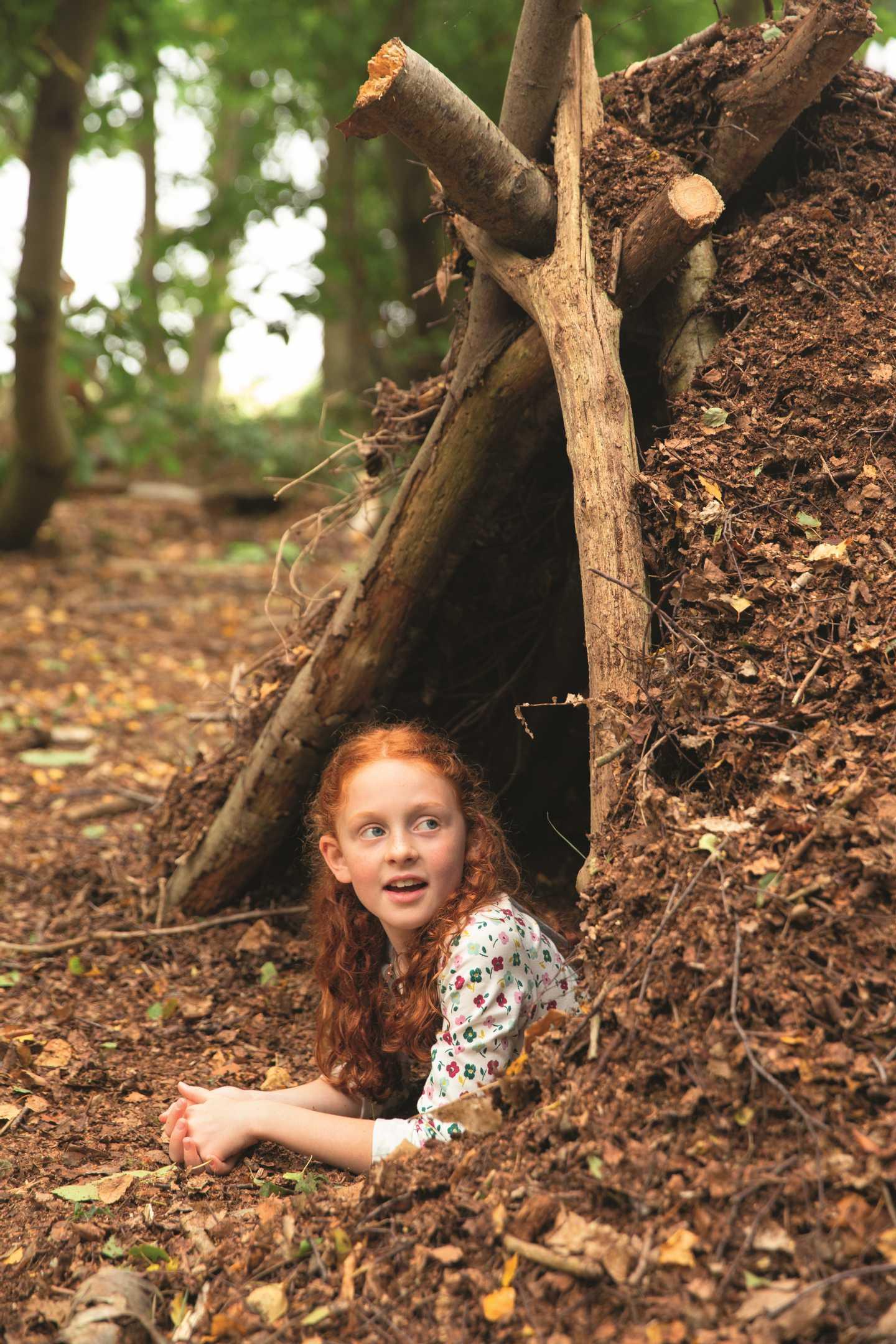 Kids in a den
