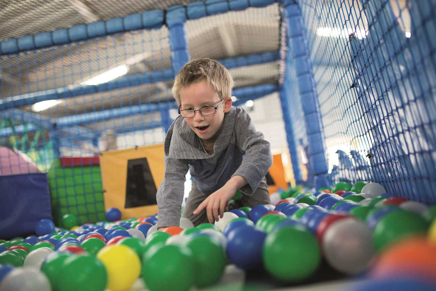 NEW - The indoor soft play area**
