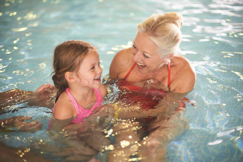 The Shore Water Park indoor pool**