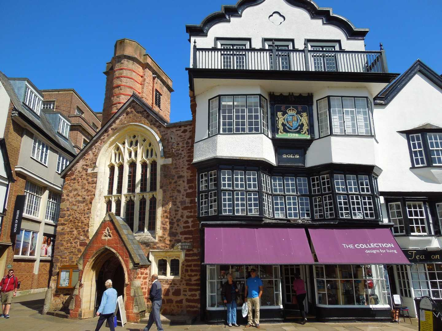 Exeter city centre