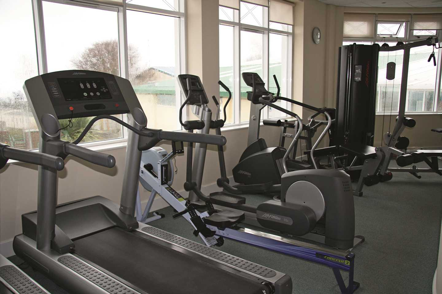 Our owners' gym equipment