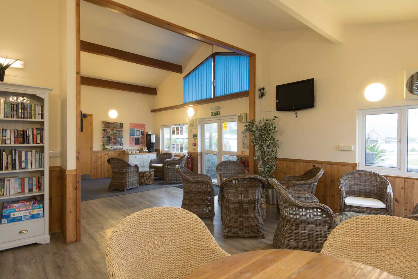 The Owners lounge reception at Cardigan View