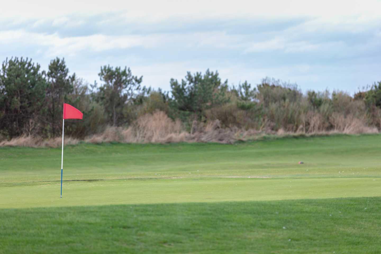 The golf course at Far Grange
