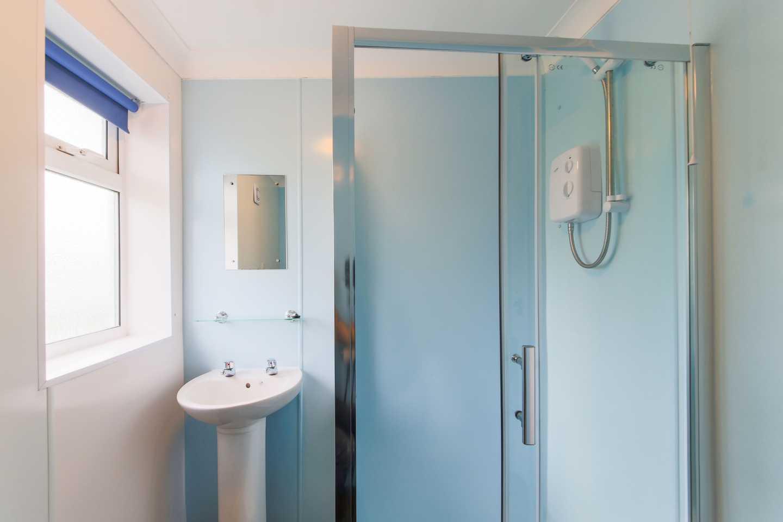A Comfort chalet bathroom