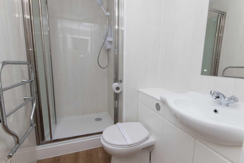 A Standard apartment bathroom