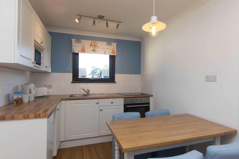 A Standard apartment kitchen
