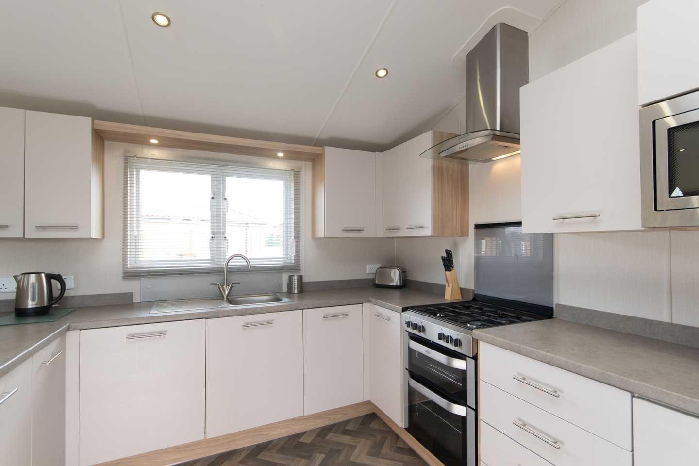 A Luxury Lodge kitchen