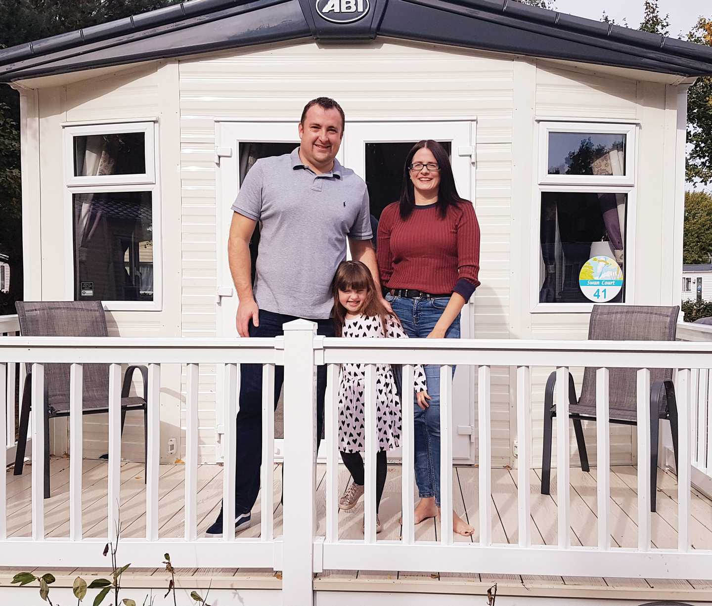 The Sims family, owners at Wild Duck
