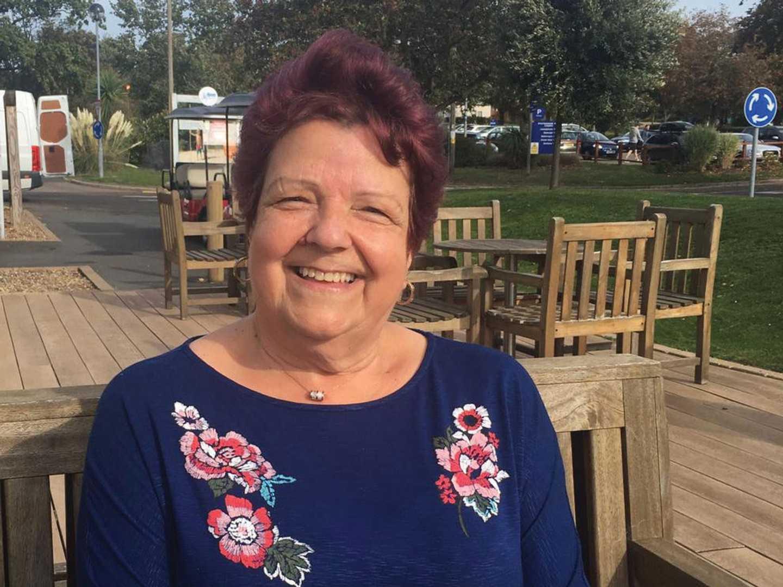 Mrs Allen, owner at Hopton