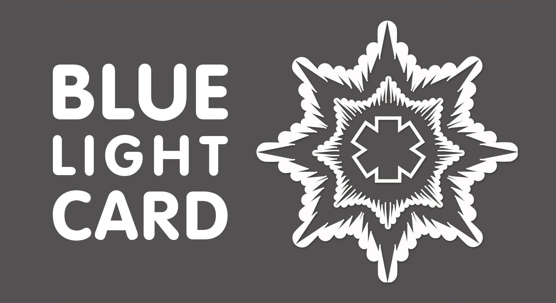 Blue Light Card