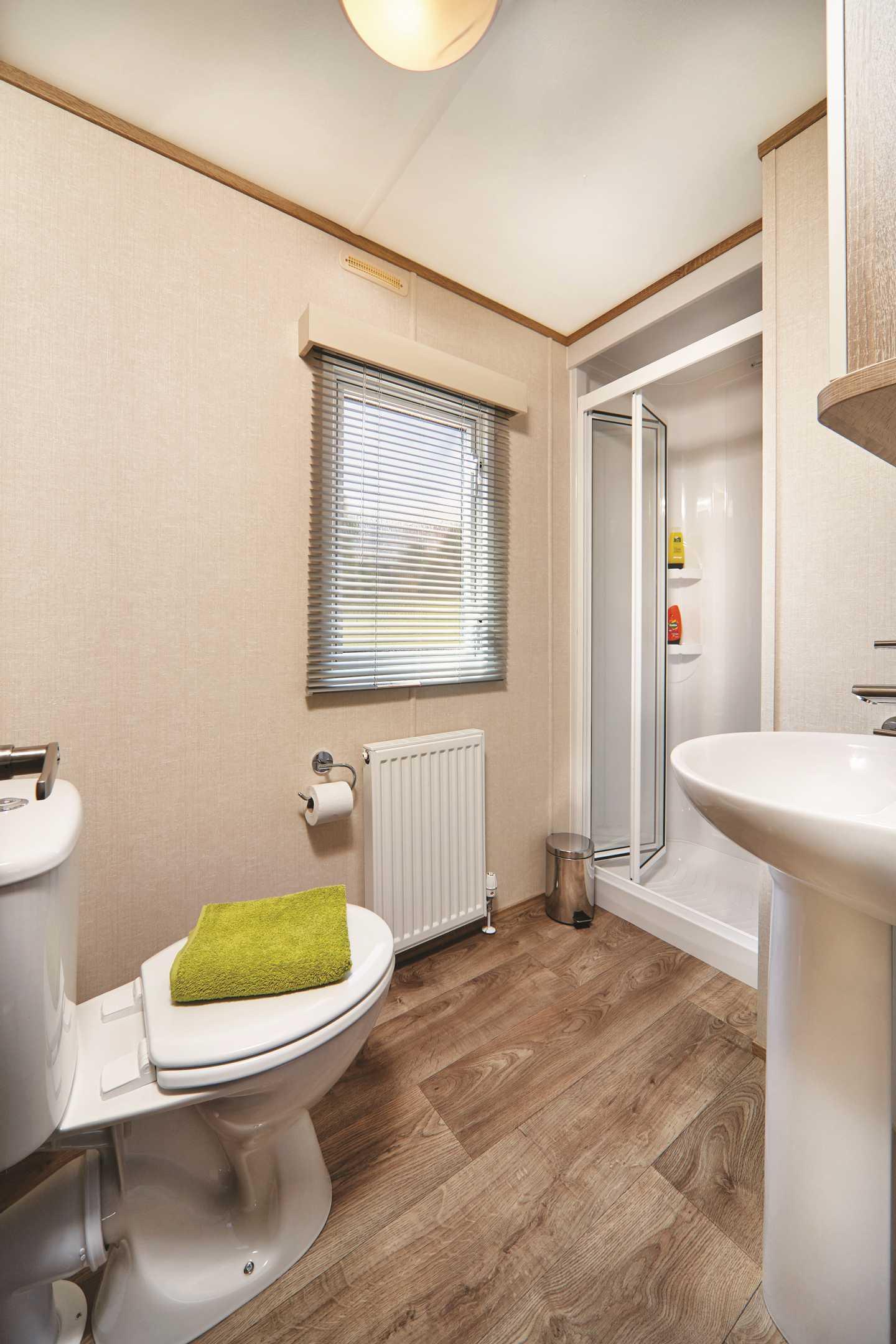 Carnaby Oakdale main bedroom with en-suite shower room