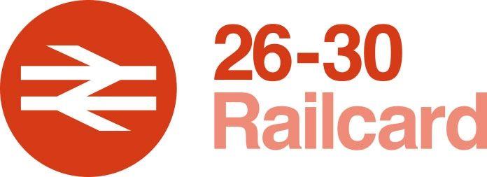 26-30 Railcard logo