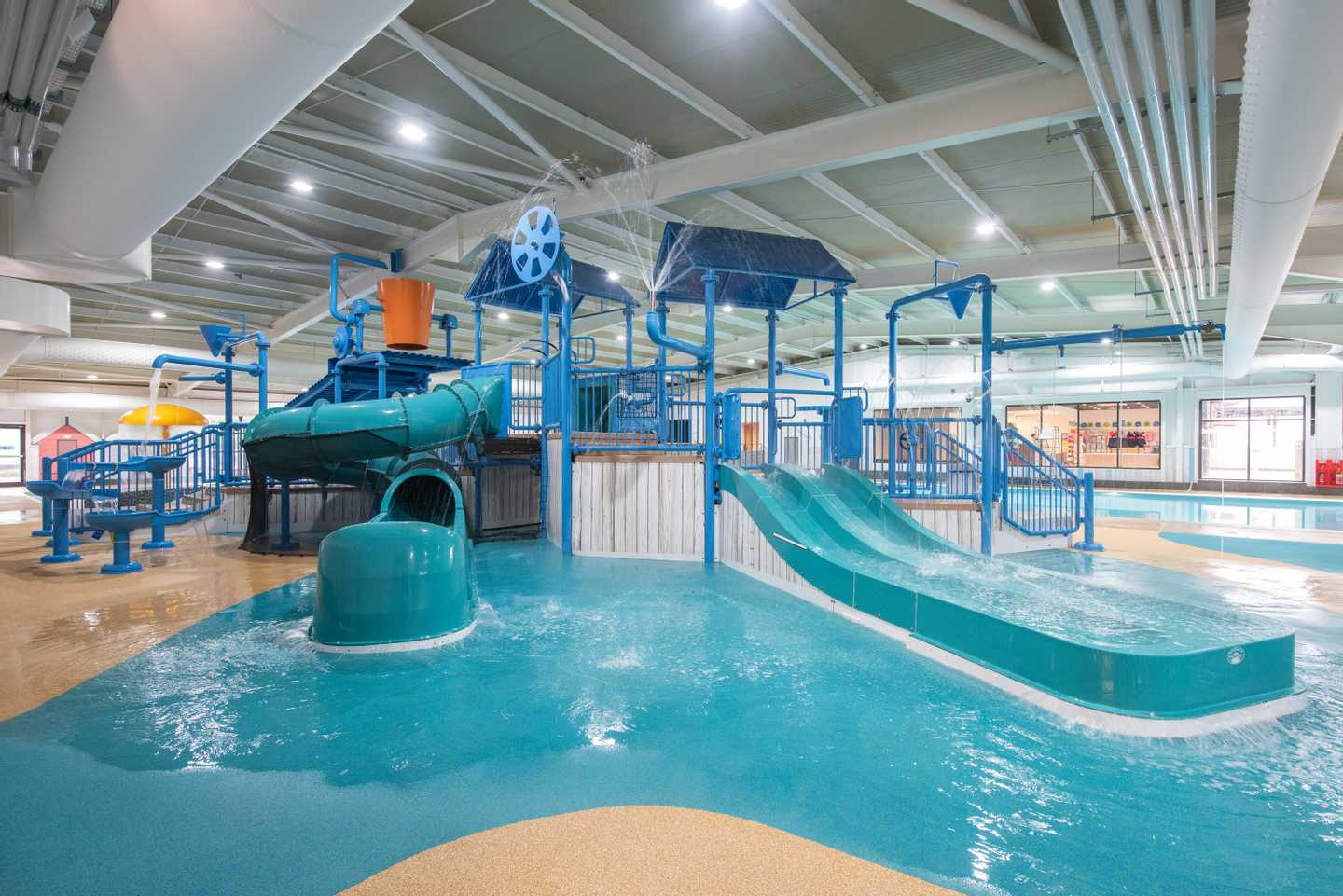 NEW - The Shore Water Park indoor pool