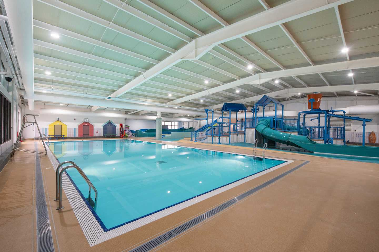 The Shore Water Park indoor pool