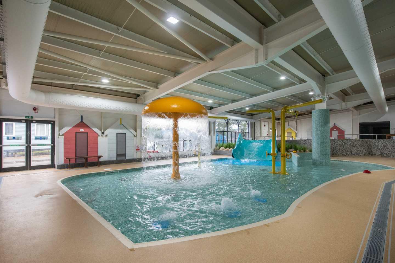 Indoor pool at Seashore