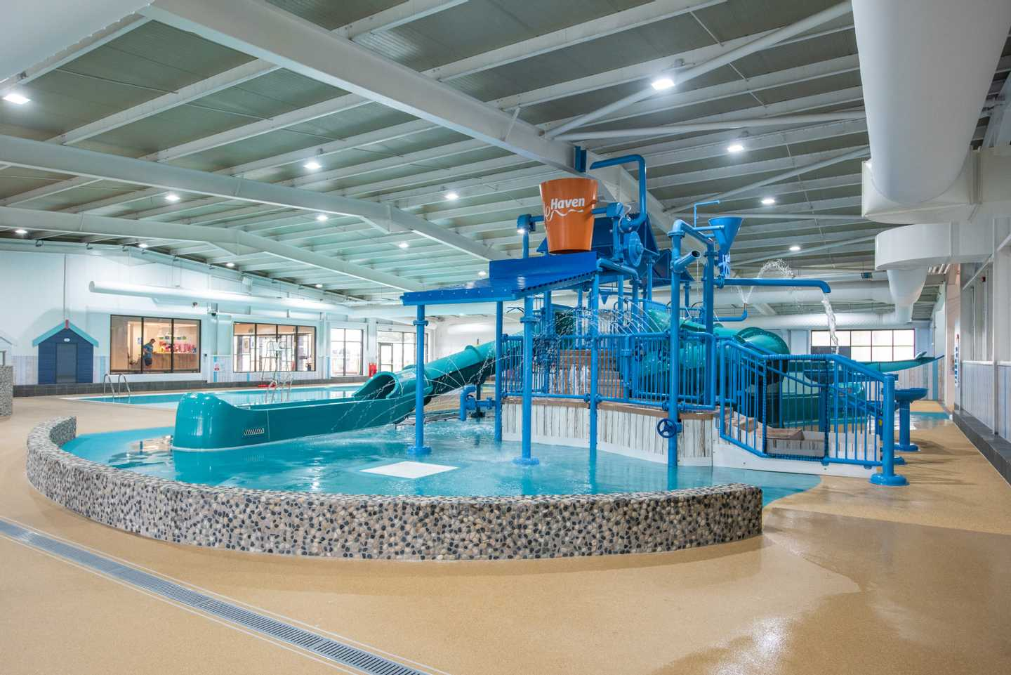 NEW - The Shore Water Park indoor pool**
