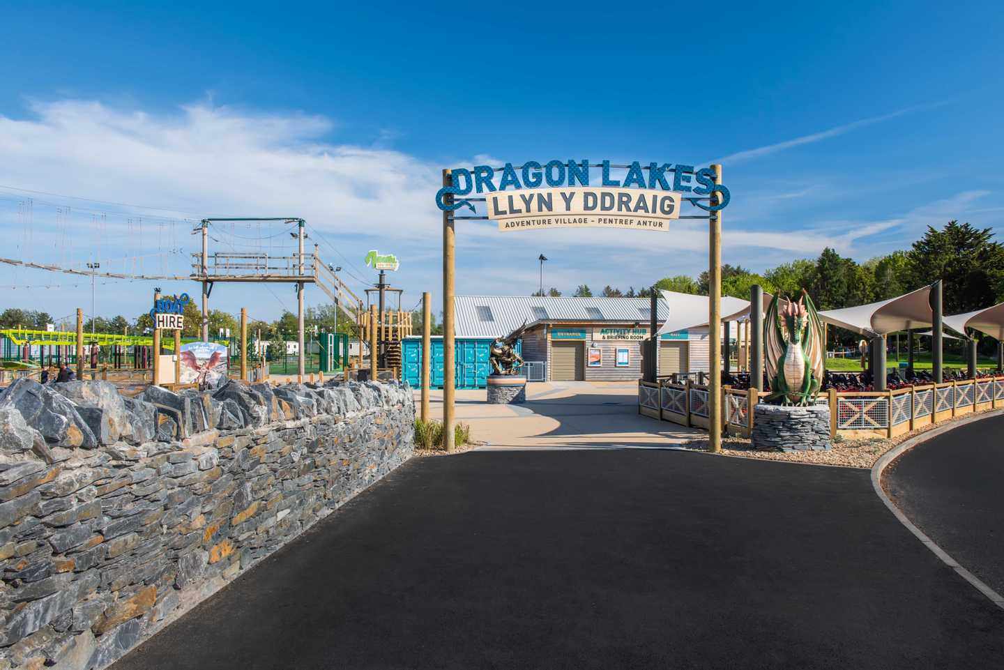 NEW - Dragon Lakes Adventure Village
