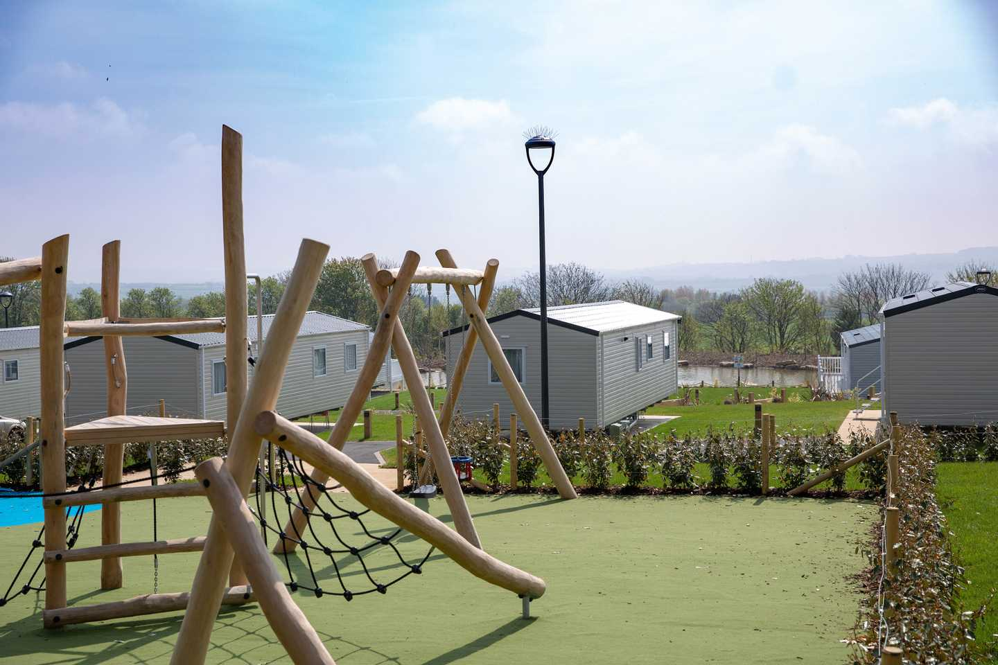 Let the kids roam free in our Wold Vale play area