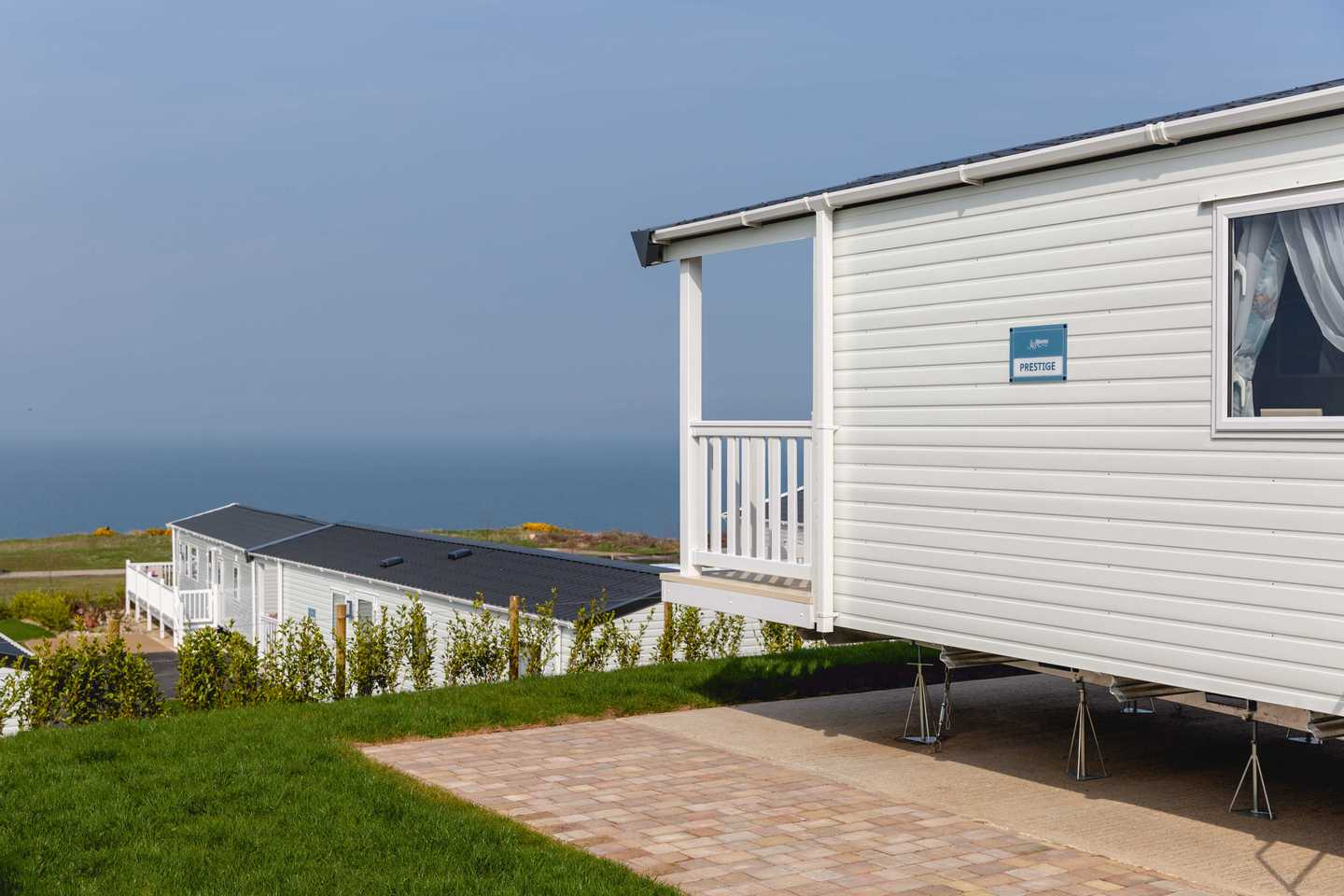 A New Prestige with decking at Brigg View
