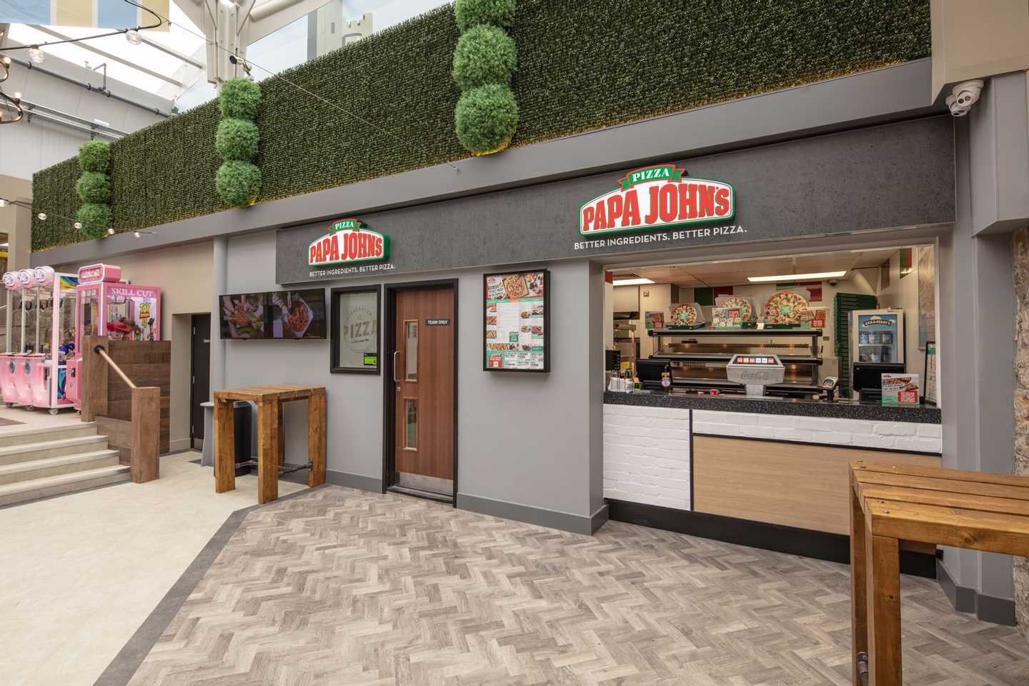 Refurbished Papa John's Pizza