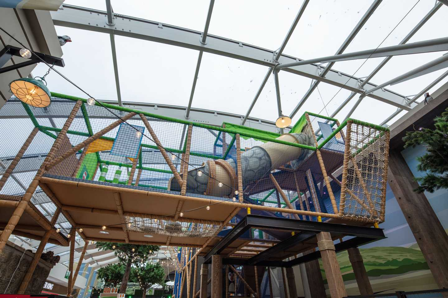 The soft play area