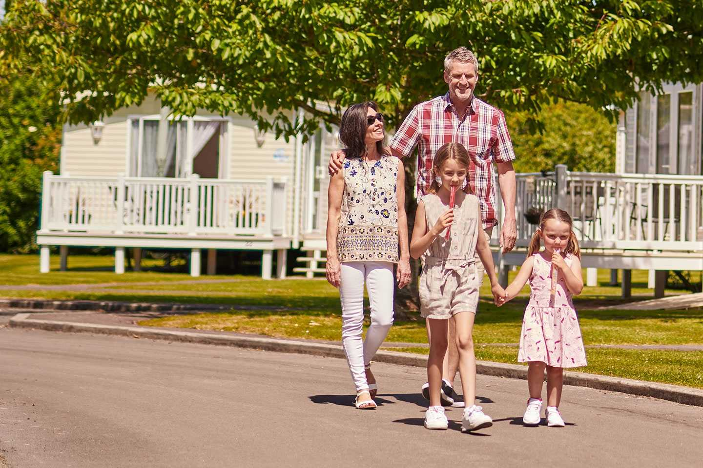 Free 2019 site fees for holiday home owners