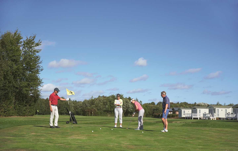 Hopton's 9-hole golf course