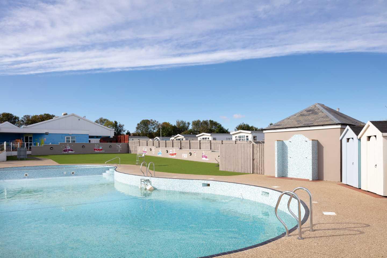 Outdoor pool at Berwick