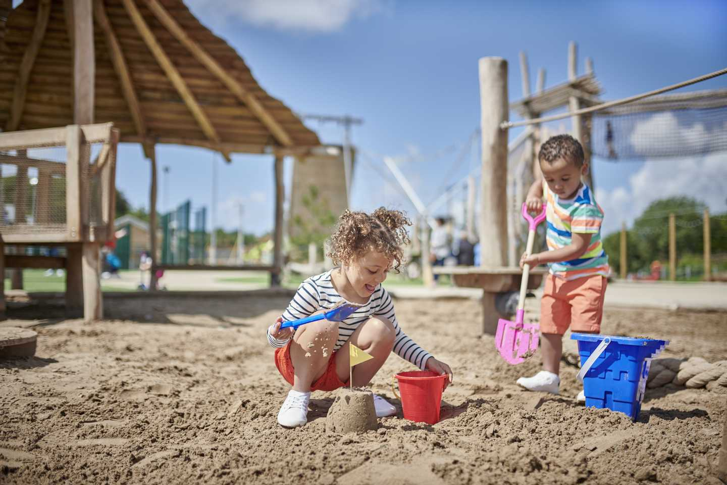Representation of Sand Play