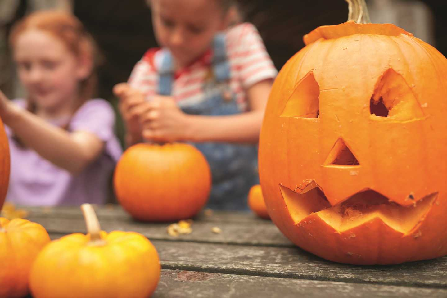 Pumpkin carving activity
