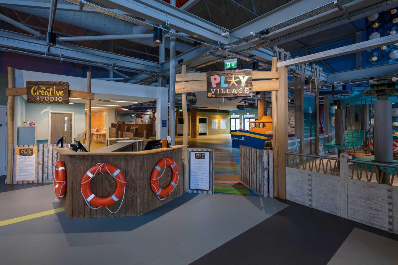 Toddlers' Play Village, perfect for tots at Craig Tara, Scotland