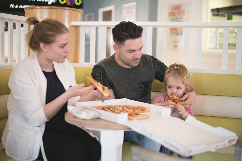 Representation of Papa John's Pizza