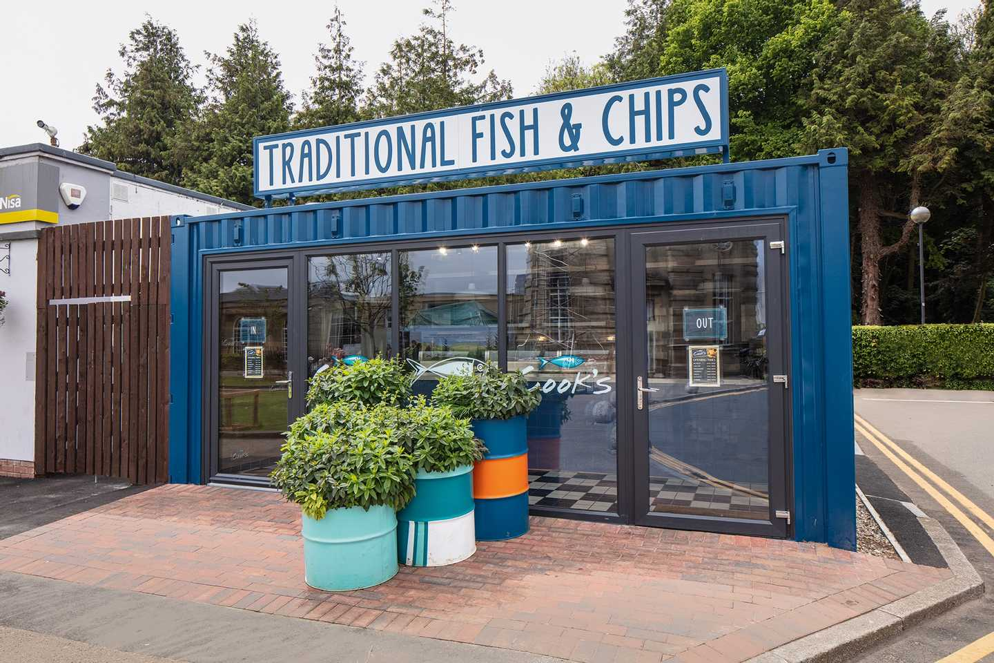 Representation of the Cook's Fish and Chip Shop