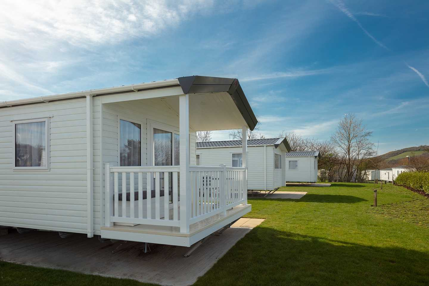 Prestige with decking at Dalrymple Village or Balmoral, Craig Tara