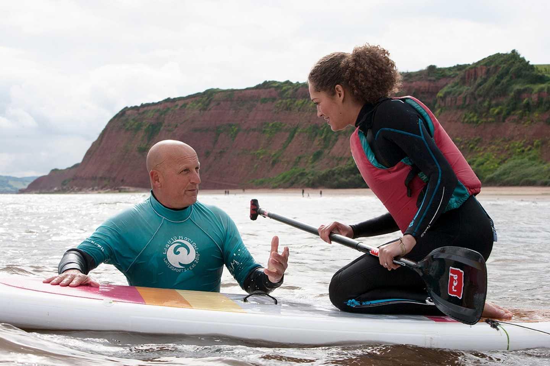 Sea Paddleboard Coaching