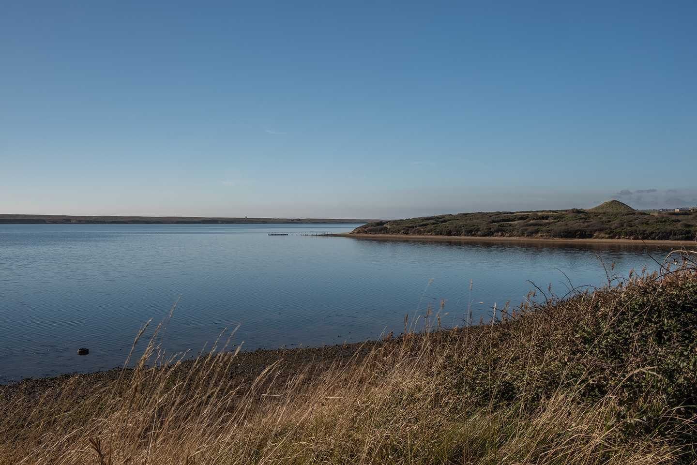 Views of the lagoon at Littlesea